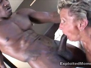 Exploited Moms - Grandma Shirley and BBC Wesley Pipes